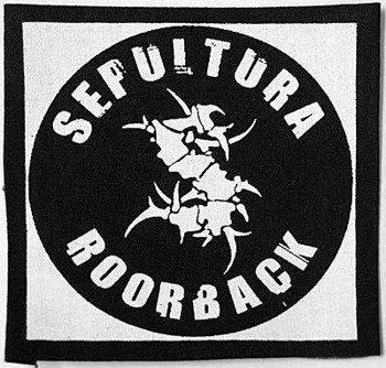 naszywka SEPULTURA - ROORBACK