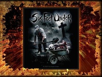 naszywka SIX FEET UNDER - DEAD MEAT
