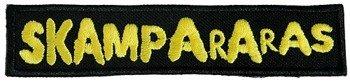 naszywka SKAMPARARAS - LOGO (czarno-żółta)  CARTON