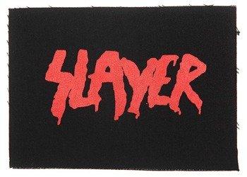 naszywka SLAYER - LOGO GOD HATES, RED