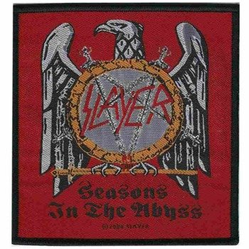 naszywka SLAYER - SEASONS IN THE ABYSS