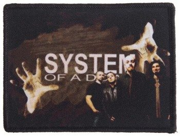 naszywka SYSTEM OF A DOWN - BAND