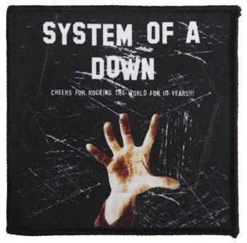 naszywka SYSTEM OF A DOWN - CHEERS FOR ROCKING...