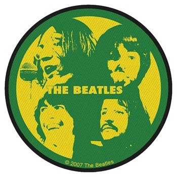 naszywka THE BEATLES - FACES RUND