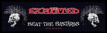 naszywka THE EXPLOITED - BEAT THE BASTARDS