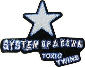 naszywka termiczna SYSTEM OF A DOWN - TOXICITY