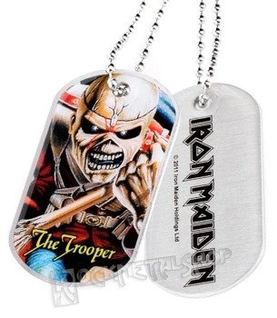 nieśmiertelnik IRON MAIDEN - THE TROOPER