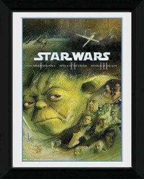 obraz w ramce STAR WARS - BLU RAY PREQUEL