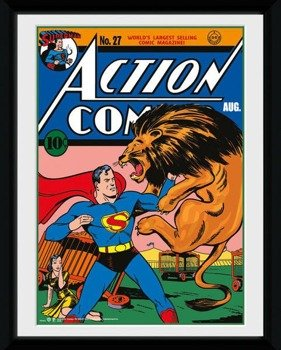 obraz w ramce SUPERMAN - LION