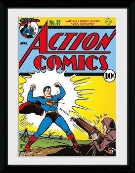 obraz w ramie SUPERMAN - COMIC