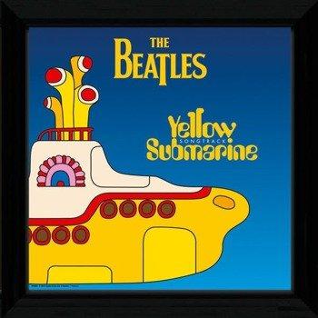 obraz w ramie THE BEATLES - YELLOW SUBMARINE
