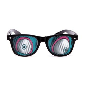 okulary NUNETTES - ZOMBIE BLACK SUNGLASSES BANSHI