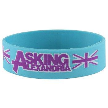 opaska ASKING ALEXANDRIA - BLOKES silikonowa