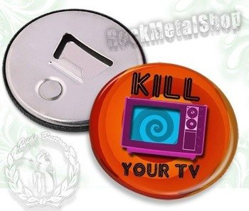 otwieracz do piwa KILL YOUR TV
