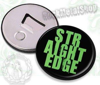 otwieracz do piwa STRAIGHT EDGE - NAPIS