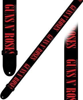 pas do gitary GUNS N'ROSES - LOGO nylon, 50mm