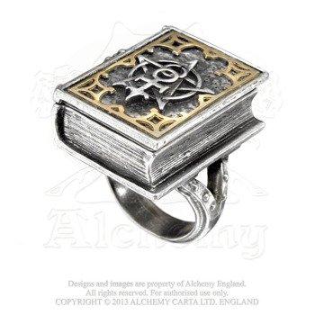 pierścień DEE'S BOOK OF ANGEL MAGIC STASH