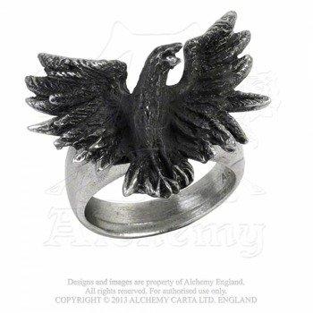 pierścień FLOCKING RAVEN