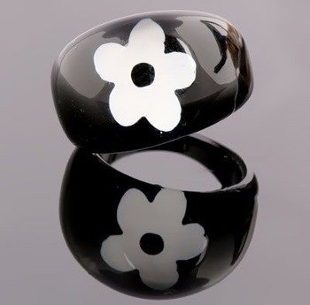 pierścień FLOWER