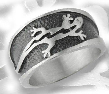 pierścień JASZCZURKA
