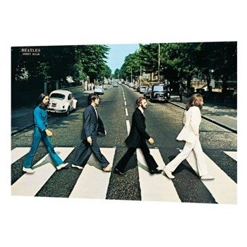 plakat 3D THE BEATLES - ABBEY ROAD