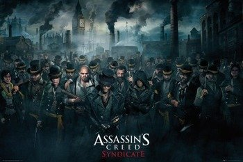 plakat ASSASSINS CREED SYNDICATE - CROWD