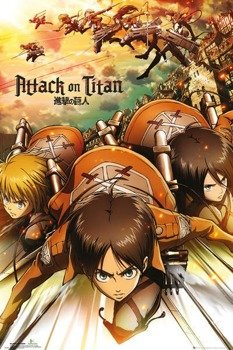 plakat ATTACK ON TITAN - ATTACK