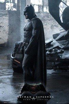 plakat BATMAN VS SUPERMAN - BATMAN