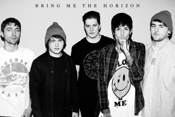 plakat BRING ME THE HORIZON - BLACK AND WHITE
