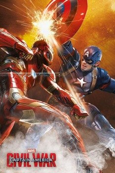 plakat CAPTAIN AMERICA - FIGHT