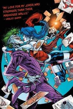 plakat DC COMICS - HARLEY KISS