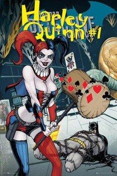 plakat DC COMICS - HARLEY QUINN FOREVER EVIL