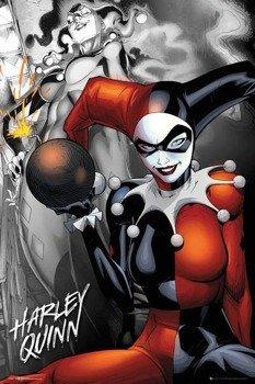 plakat DC COMICS - QUINN THE BOMB