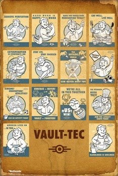 plakat FALLOUT 4 - VAULT TEC COMPILATION