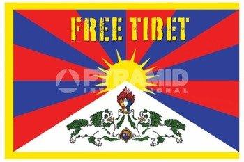 plakat FREE TIBET
