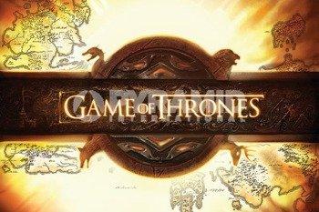 plakat GAME OF THRONES - LOGO