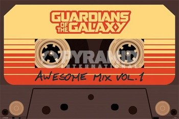 plakat GUARDIANS OF THE GALAXY - AWESOME MIX VOL. 1