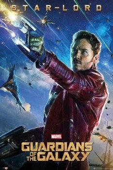 plakat GUARDIANS OF THE GALAXY - STAR LORD