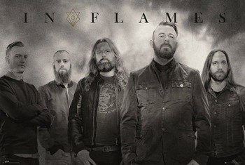 plakat IN FLAMES - BAND