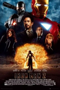 plakat IRON MAN 2 - ONE SHEET