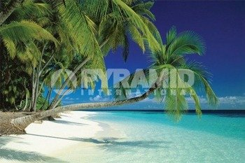 plakat MALDIVES BEACH