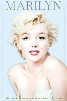 plakat MARILYN MONROE - WE ARE ALL STARS