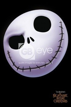 plakat NIGHTMARE BEFORE CHRISTMAS - FACE