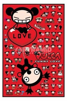 plakat PUCCA - COLLAGE