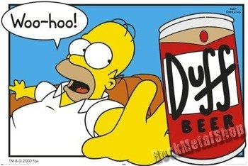 plakat SIMPSONS - HOMER BEER