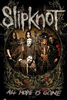plakat SLIPKNOT - IS GONE