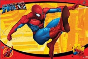 plakat SPIDER-MAN (KICK)