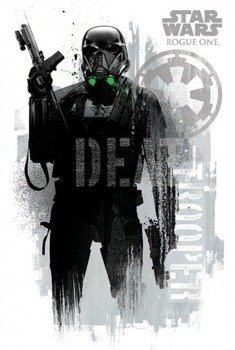 plakat STAR WARS - DEATH TROOPER GRUNGE