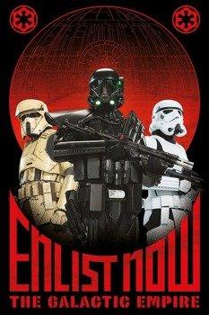 plakat STAR WARS - ENLIST NOW
