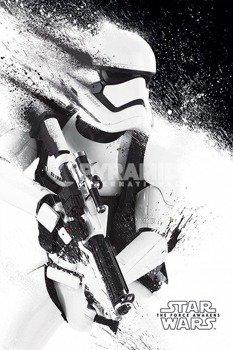 plakat STAR WARS - EPISODE VII (STORMTROOPER PAINT)
